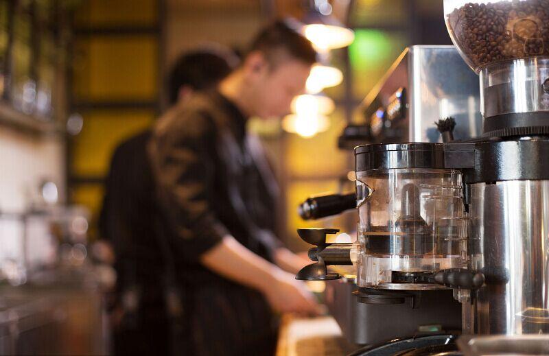 小型咖啡店