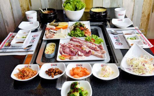 韩式料理加盟排行榜