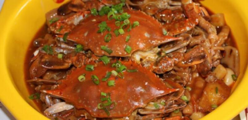 馋嘴肉蟹煲加盟