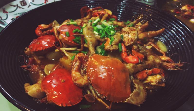 阿强肉蟹煲加盟