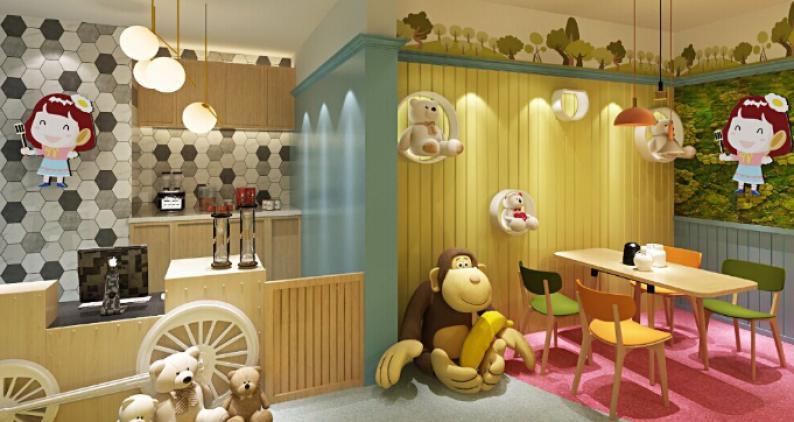 小茉家儿童餐厅加盟