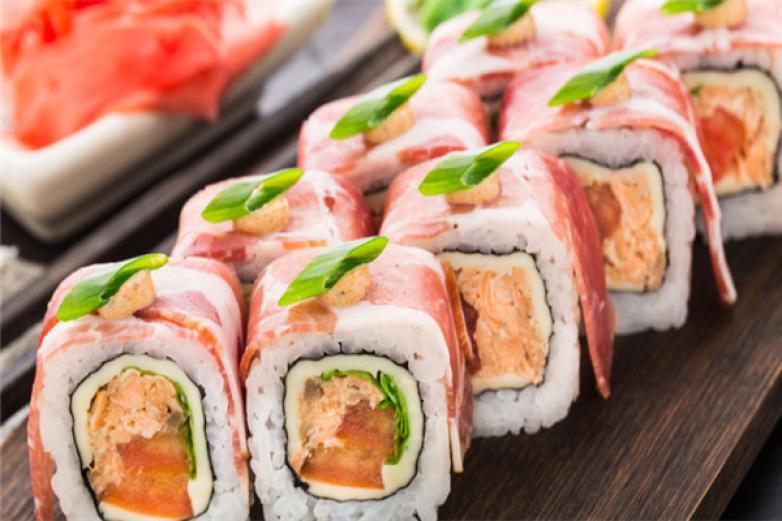 寿司小吃车