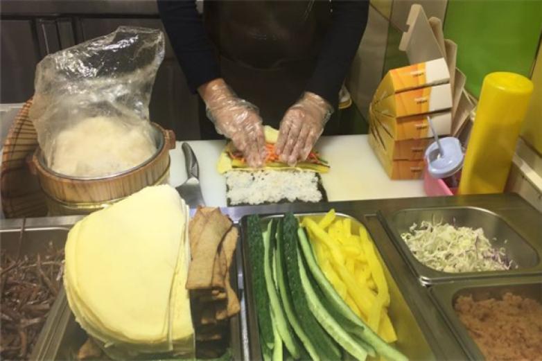 媽媽家紫菜包飯加盟