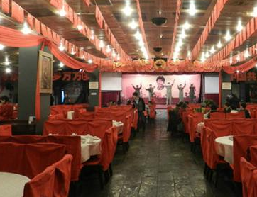 紅色經典主題餐廳