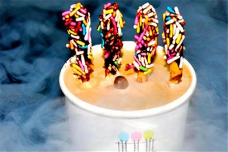 分子冰淇淋加盟