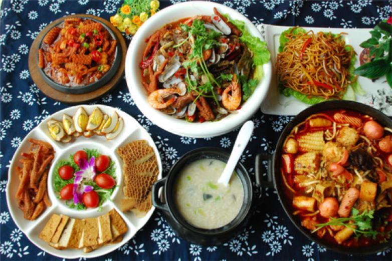 康美味中式快餐加盟