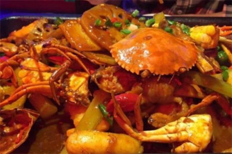 九秒九肉蟹煲加盟
