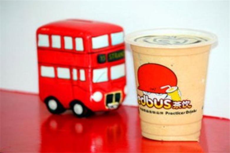 红色巴士奶茶加盟