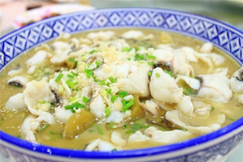 金秋酸菜鱼加盟