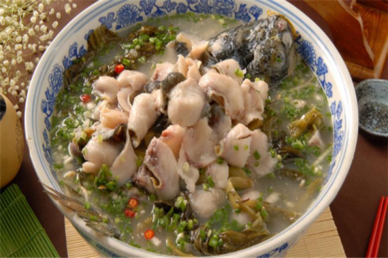 饭店酸菜鱼加盟