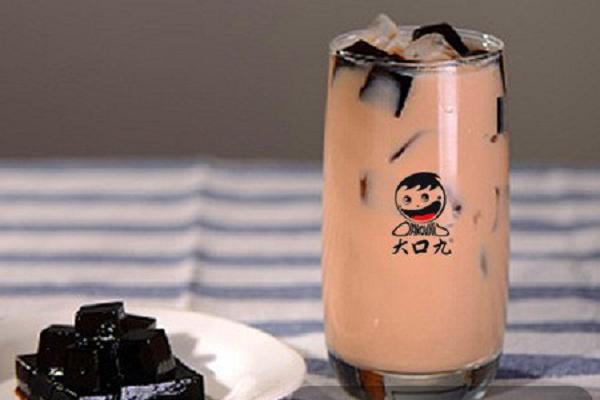 大口九奶茶怎么加盟