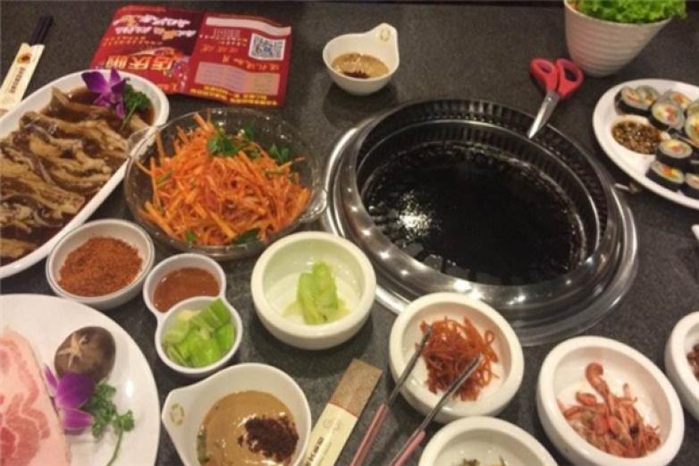 韩帝园烤肉加盟