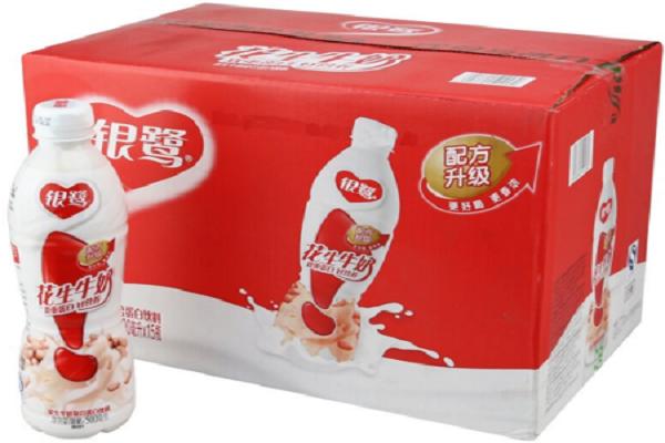 银鹭花生牛奶多少钱一箱
