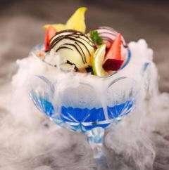 烟雾冰淇淋