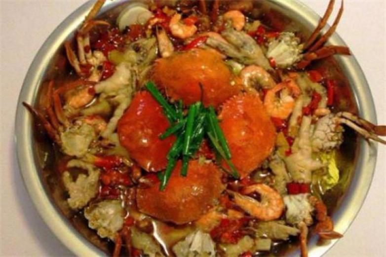 阿龙肉蟹煲加盟