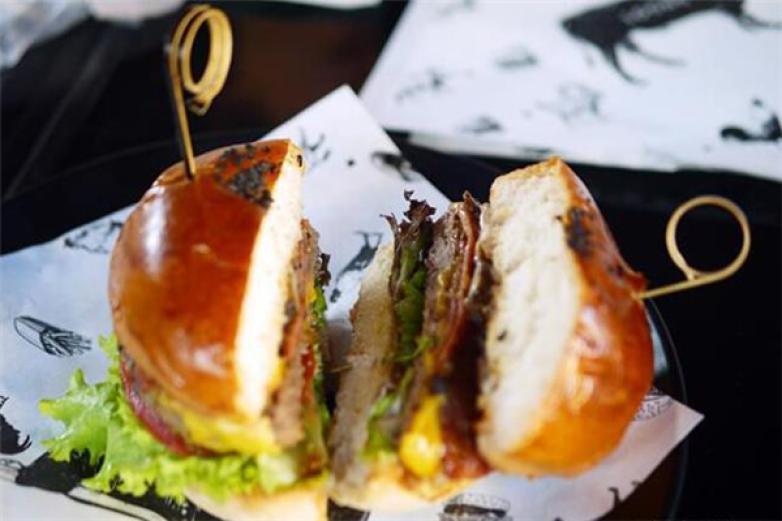 龍治漢堡加盟