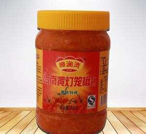 海南黃燈籠辣椒醬