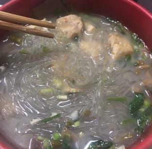 鸭的保鸭血粉丝汤