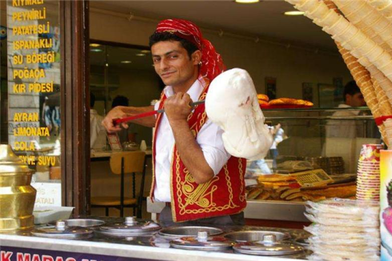 hakiki土耳其冰淇淋加盟