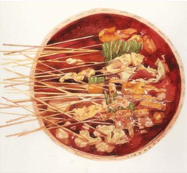 串吃串喝串串香