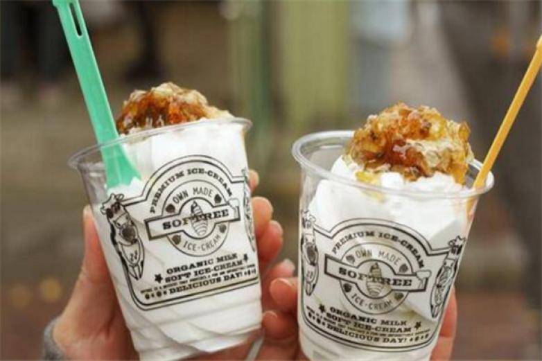 SOFTREE蜂巢冰淇淋加盟