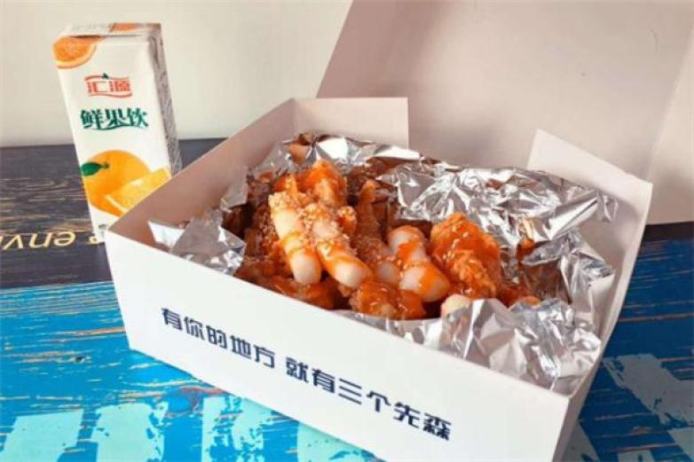 三个先森的韩国炸鸡加盟