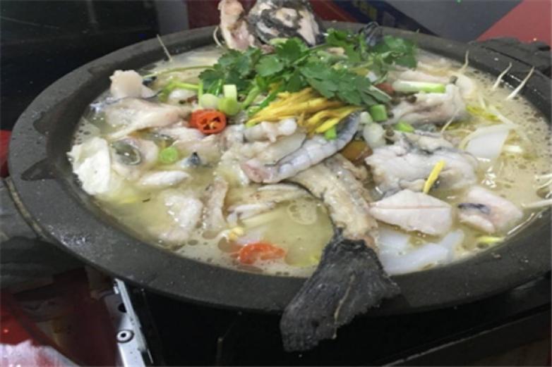 新时器蒸汽石锅鱼加盟
