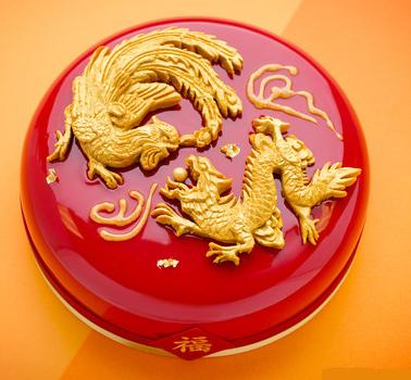 龙凤呈祥蛋糕
