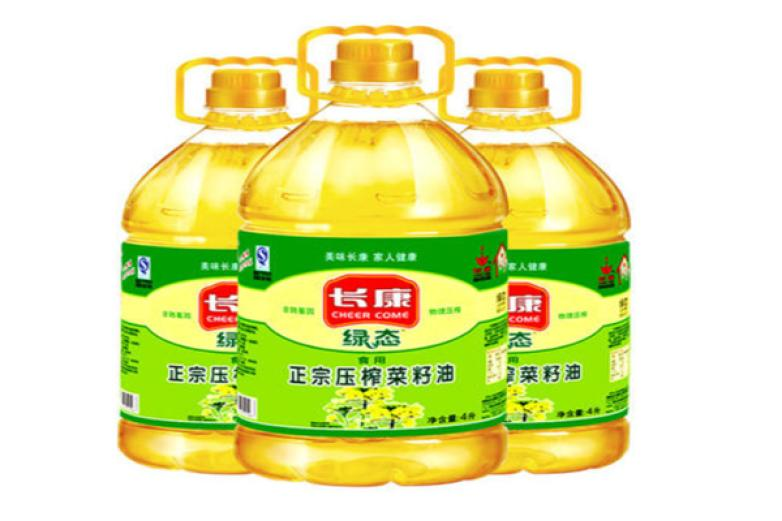 长康压榨菜籽油加盟