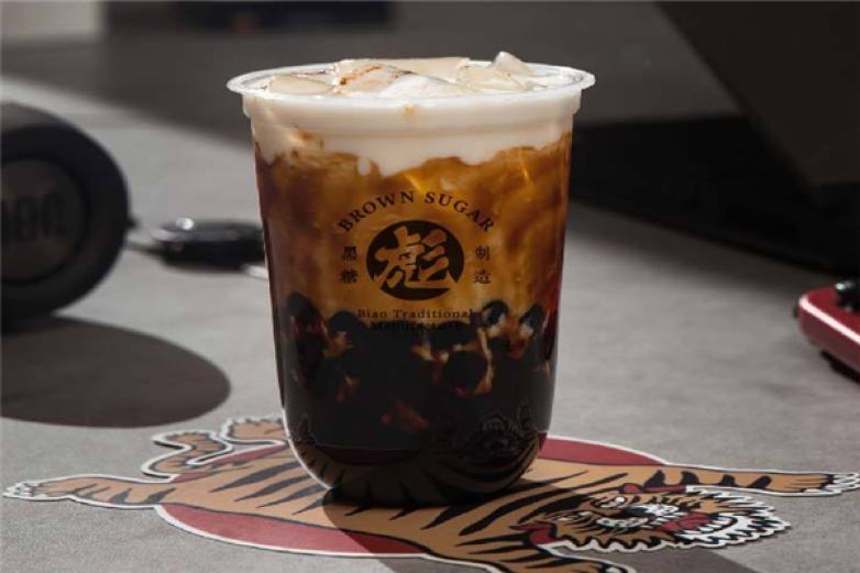 黑糖彪奶茶加盟