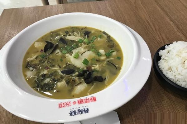 韓梅梅酸菜魚飯怎么樣 利潤大嗎