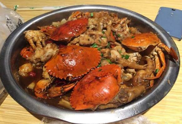 九秒九肉蟹煲