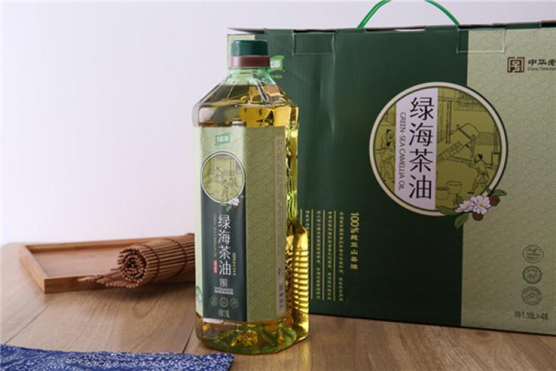 绿海茶油加盟