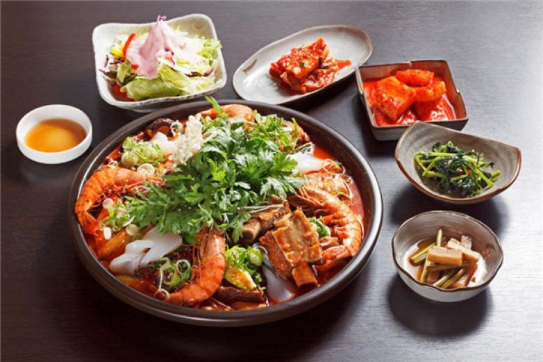 韩式料理店加盟