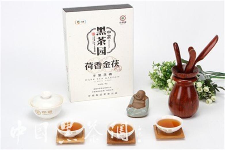 中茶黑茶园加盟