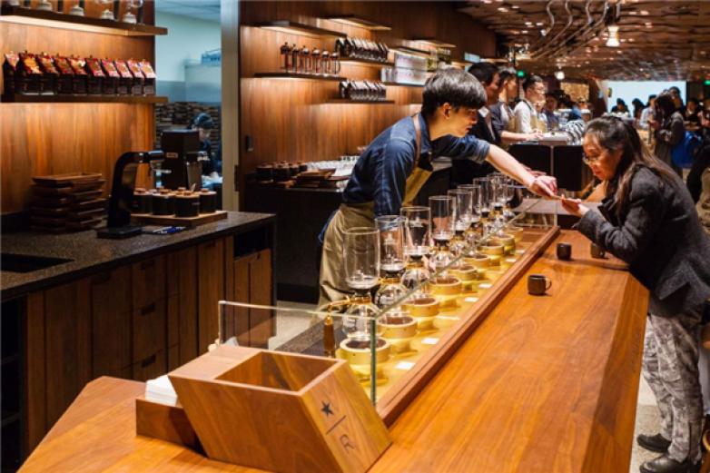 星巴克臻选上海烘焙工坊加盟