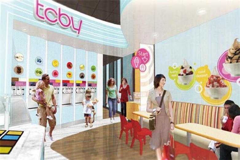 TCBY美国酸奶冰淇淋加盟