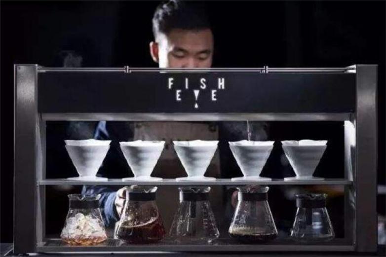 鱼眼咖啡加盟