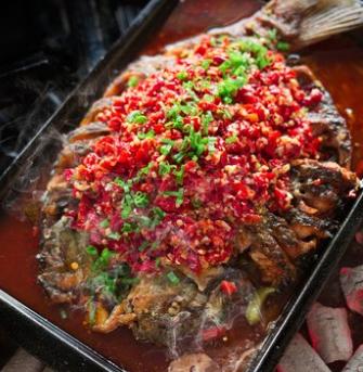 吃货大食堂烤鱼