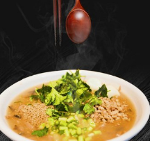 李記山野菜雜面條