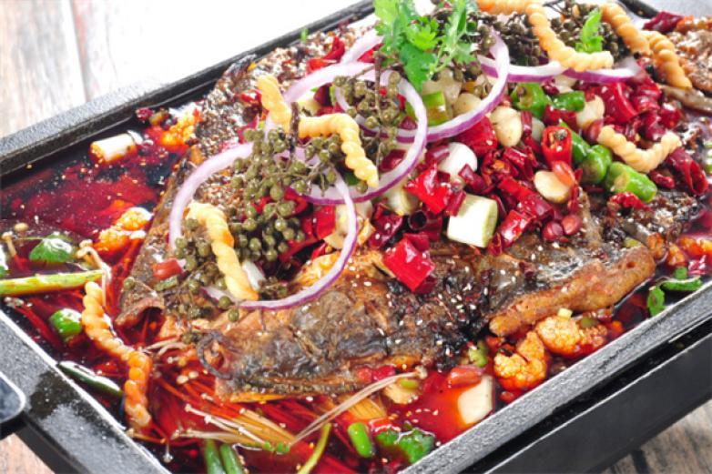 美食代烤鱼加盟
