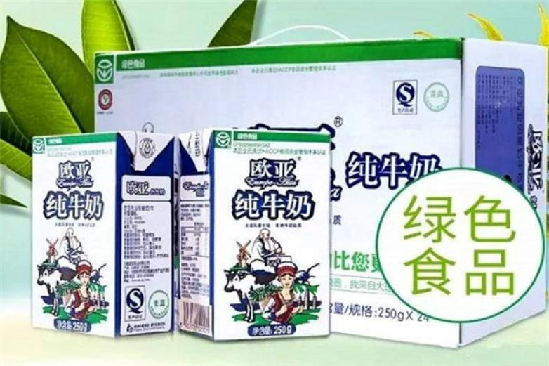 欧亚牛奶加盟