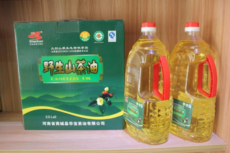 大别山野生山茶油
