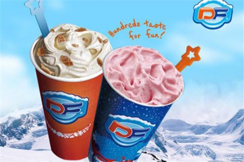DF冰雪精灵冰淇淋加盟