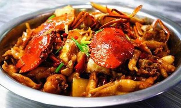 武康肉蟹煲
