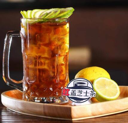 芝士红盖茶