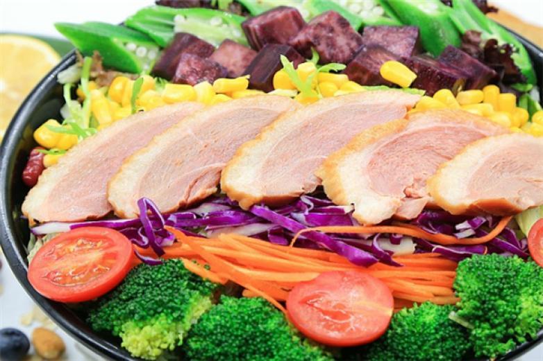謹食健身營養餐加盟