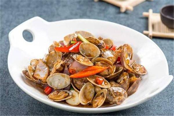 辣丁派小海鲜选用新鲜食材为原料