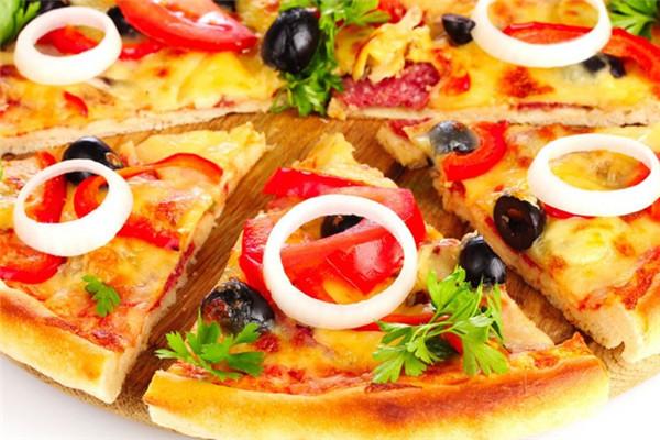 芝根芝底披萨有着可观的销售利润