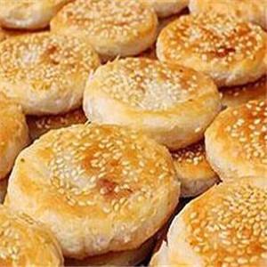 板栗酥饼小吃